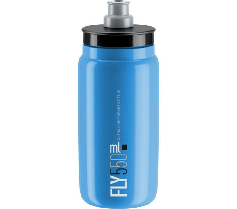 Lahev ELITE FLY modrá SKY/černé logo 550 ml