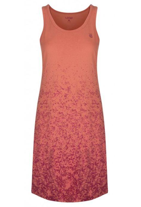 šaty dámské LOAP ASILKA oranžové