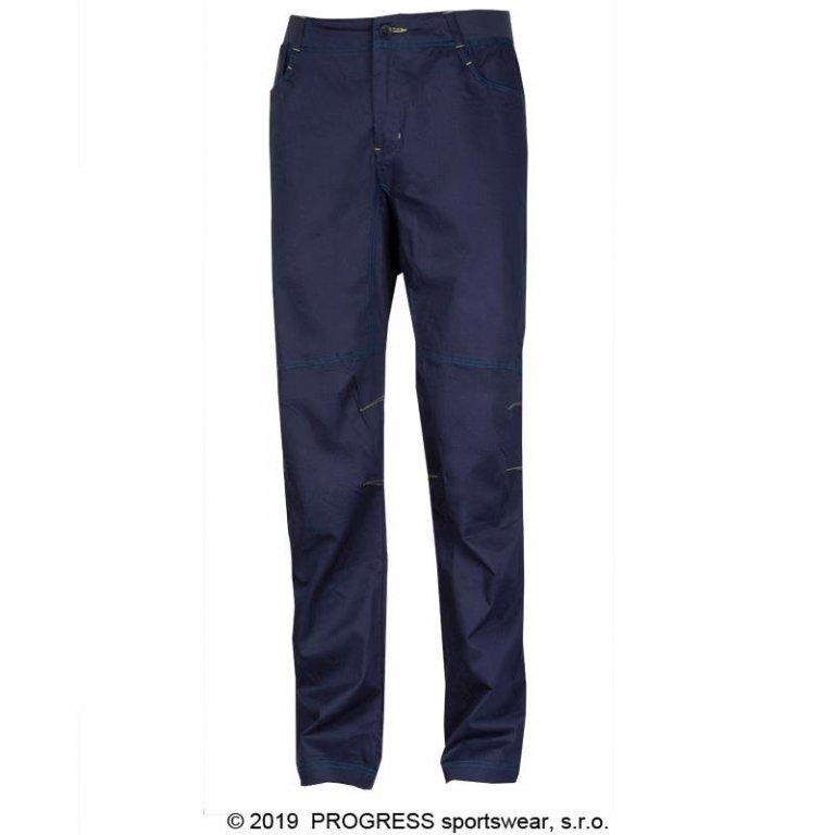 Kalhoty dlouhé pánské Progress CACTUS modré