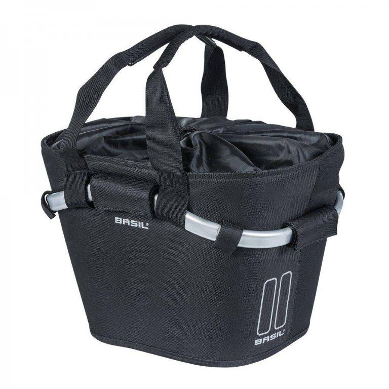 brašna BASIL Carry All front na řidítka černá