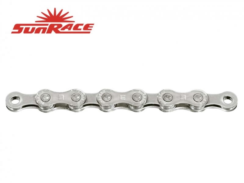 řetěz SunRace CN10E 10k E-BIKE 136čl. stříbrný