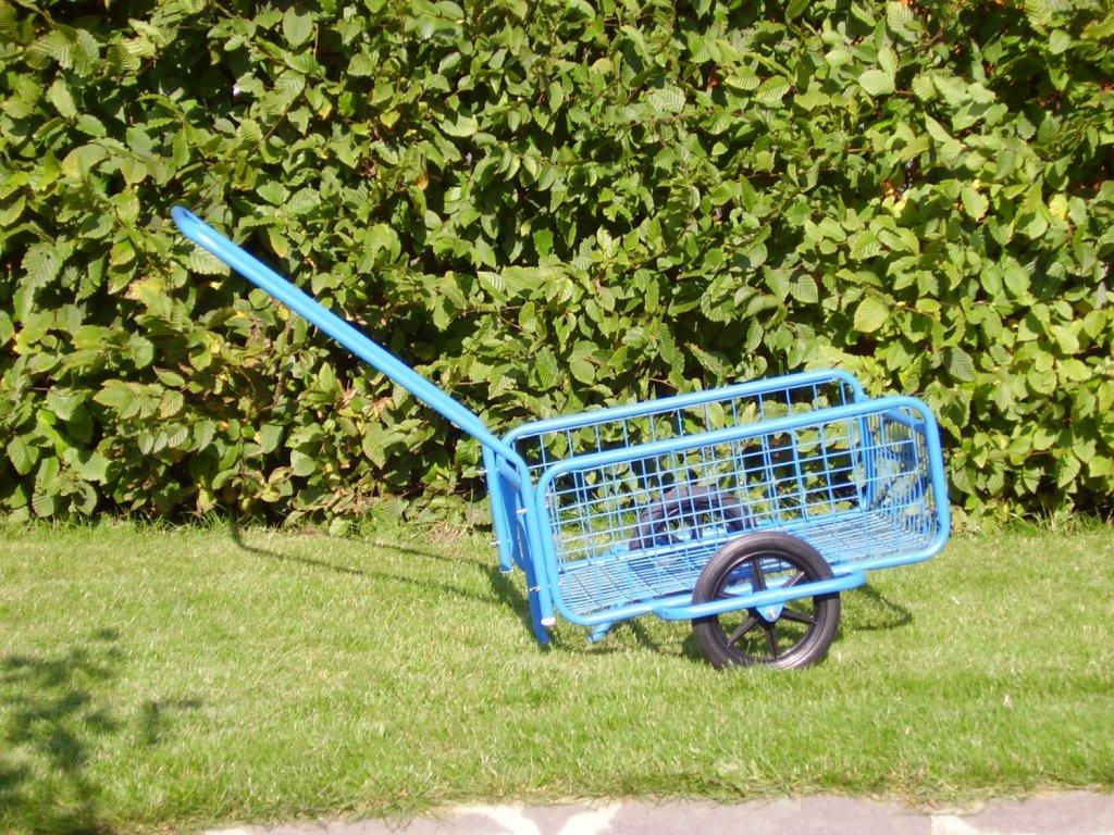 vozík POPULÁR,  gumová obruč