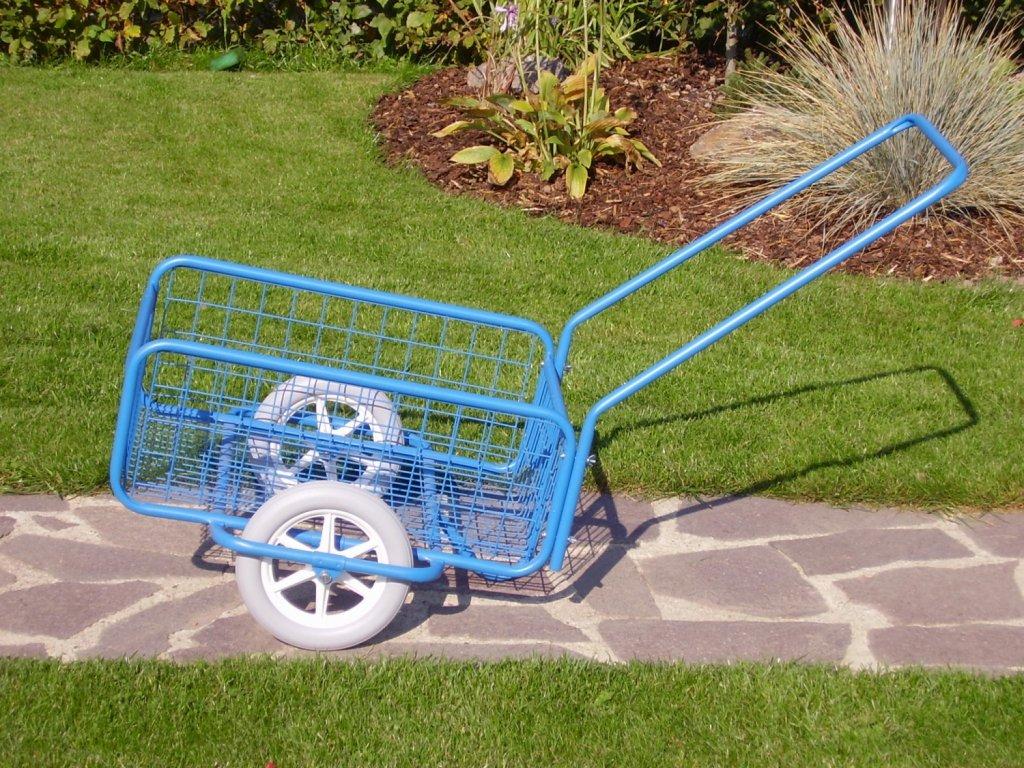 vozík POPULÁR II, polyuretan, sklopná rukojeť
