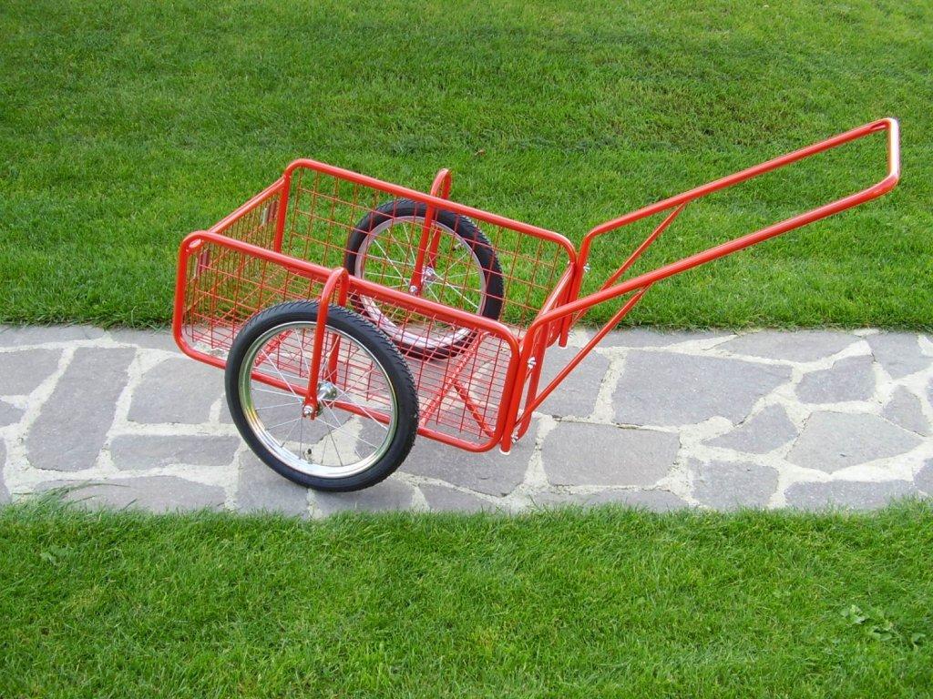 """vozík PEGAS, kola 16"""" sklopná rukojeť"""