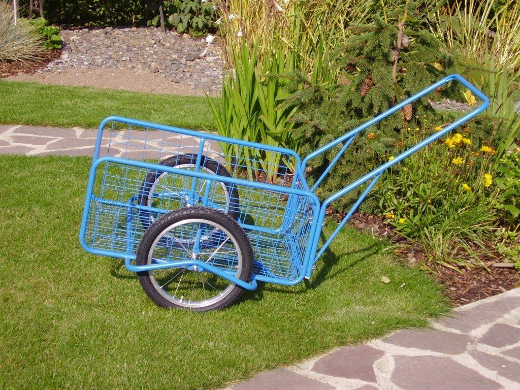 """vozík FORMAN, kola 16"""" polyuretanová obruč"""