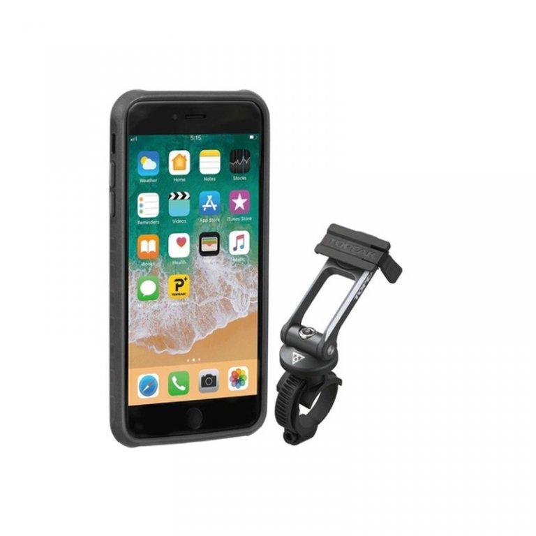 obal na mobil TOPEAK pro iPhone 6, 6s, 7, 8 černo/šedý