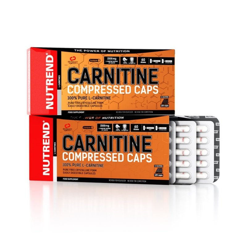 tablety Nutrend CARNITINE COMPRESSED 120 tablet