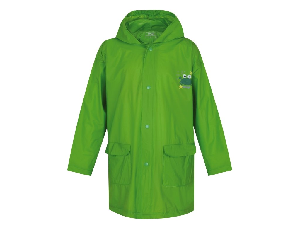 pláštěnka dětská LOAP XAXO zelená, 11-12