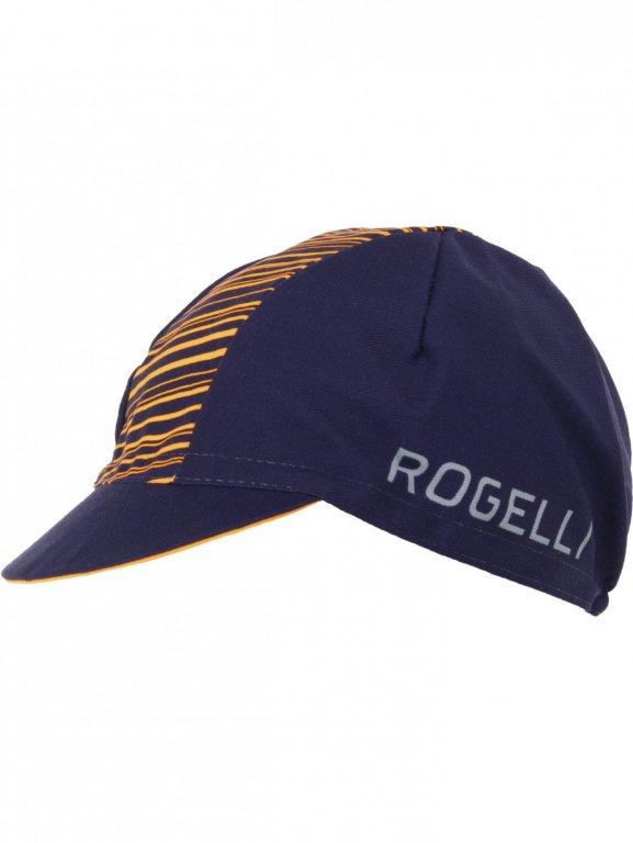 čepice Rogelli RITMO černo/oranžová