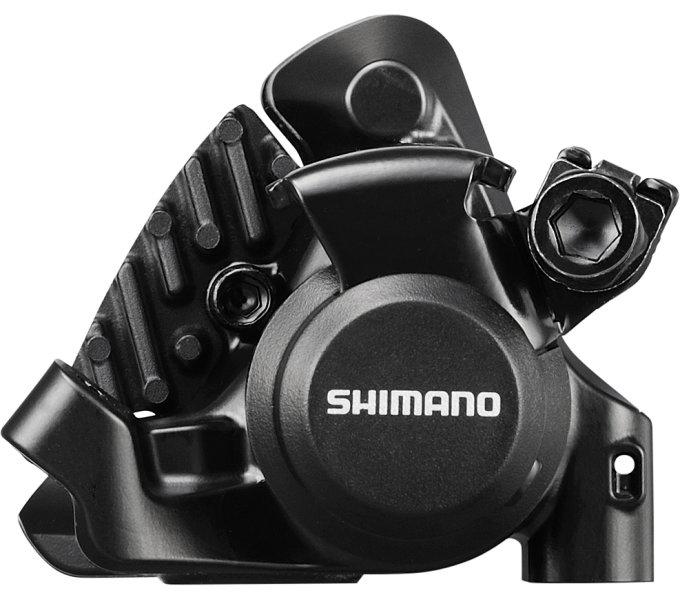 Třmen brzdy Shimano BR-RS305 zadní černý + chladič bez adaptéru