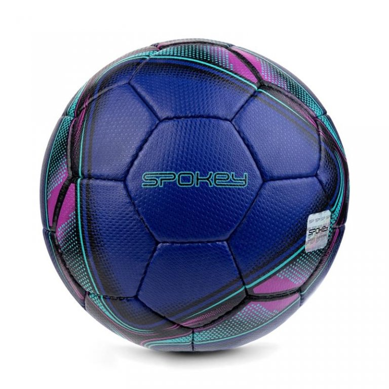 míč halový Spokey COOMB vel.4 modro-růžový