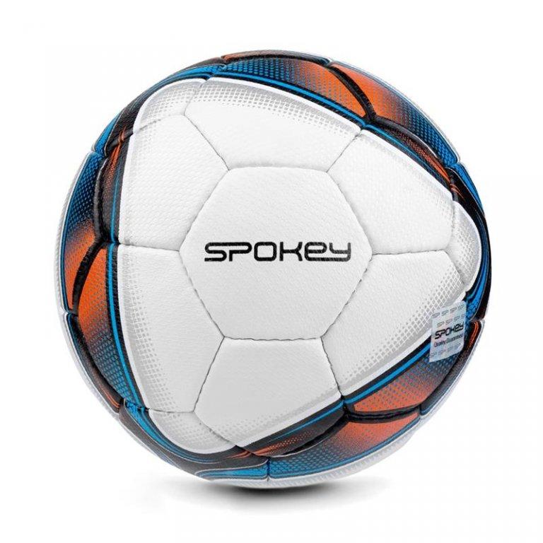 míč halový Spokey COOMB vel.4 bílo-modrý