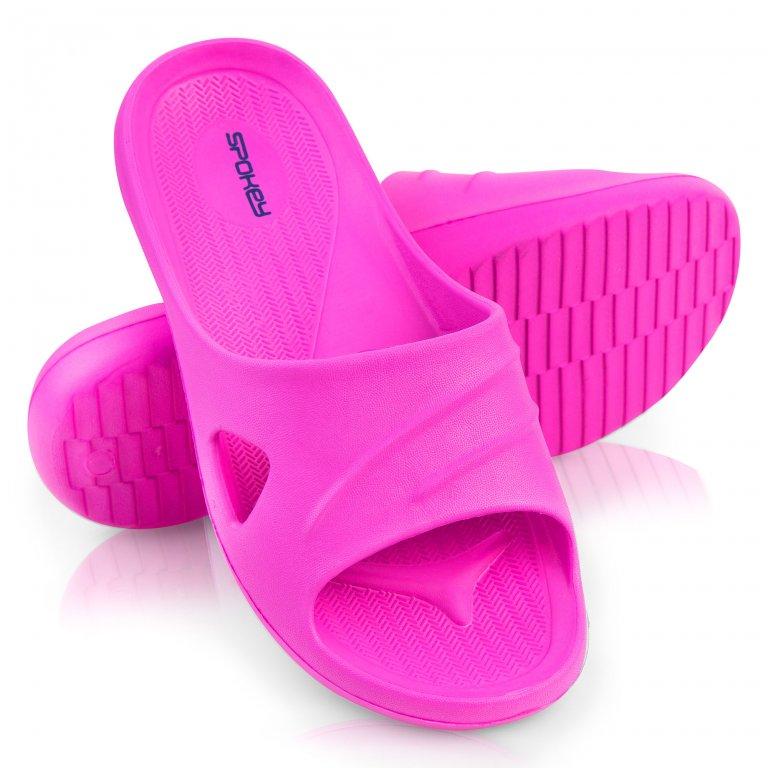 Boty dámské Spokey ISOLA pantofle růžové