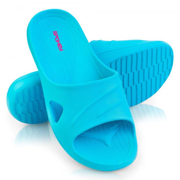Boty dámské Spokey ISOLA pantofle tyrkysové