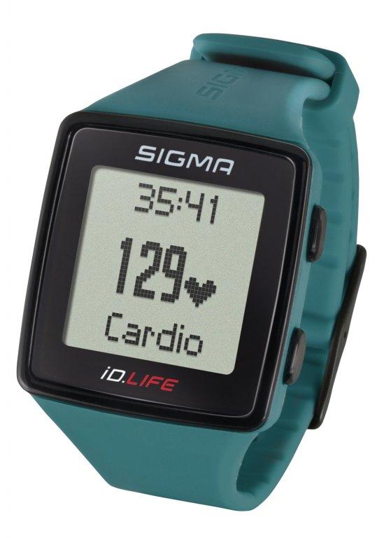 pulsmetr SIGMA iD.LIFE zelený