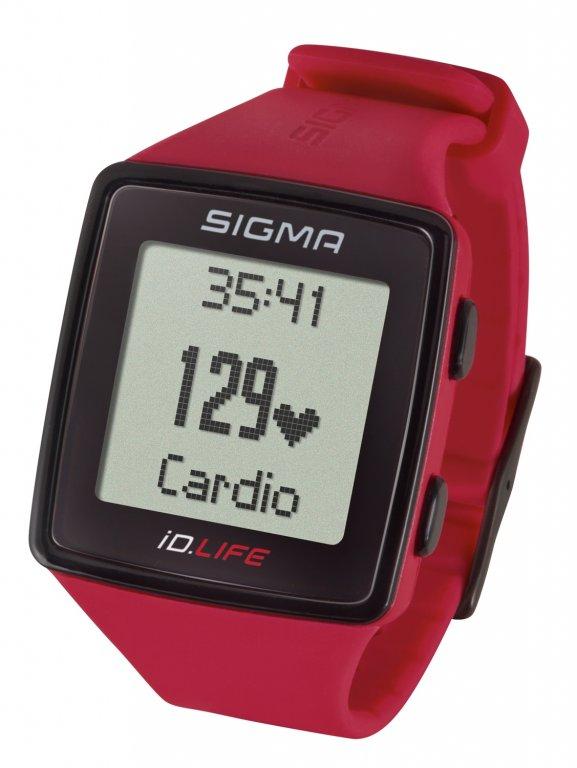 pulsmetr SIGMA iD.LIFE červený