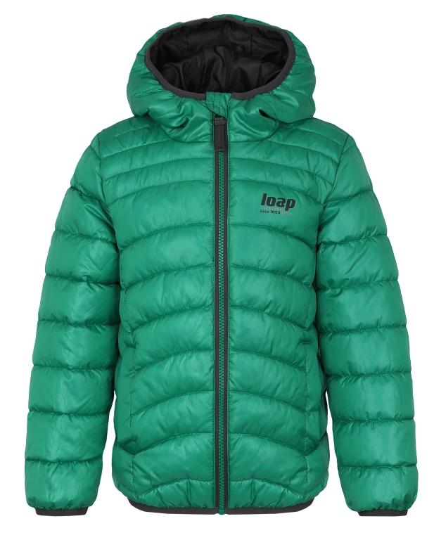 Bunda dětská LOAP INFERY zimní zelená