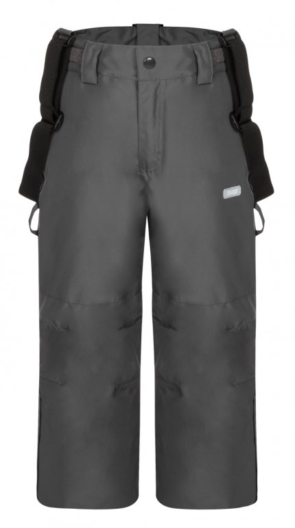 kalhoty dlouhé dětské LOAP CUTIE zimní šedé, 112/116