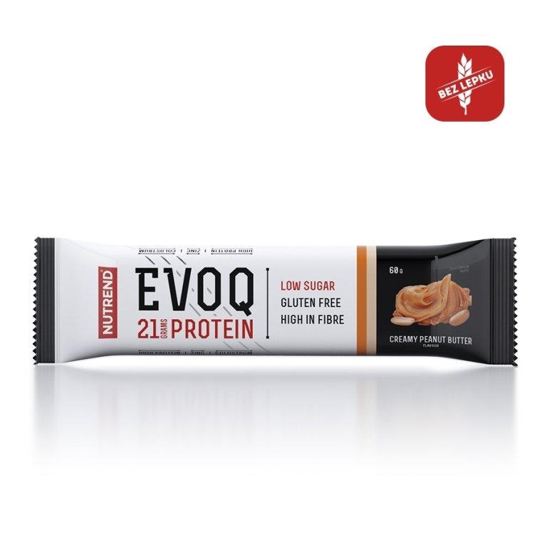 tyčinka Nutrend EVOQ arašídové máslo 60g exp.12/19