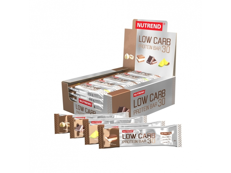 tyčinka Nutrend LOW CARB PROTEIN BAR 30 čokoláda exp.12/19