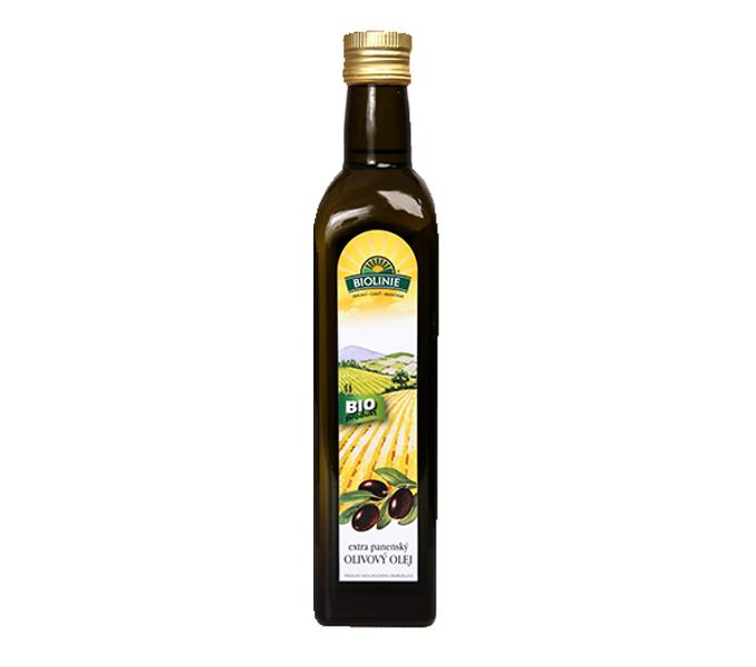 olej olivový extra panenskýu BIOLINIE 500ml