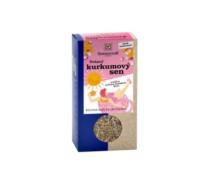 """čaj """"Voňavý kurkumový sen"""" Sonnentor 100g"""