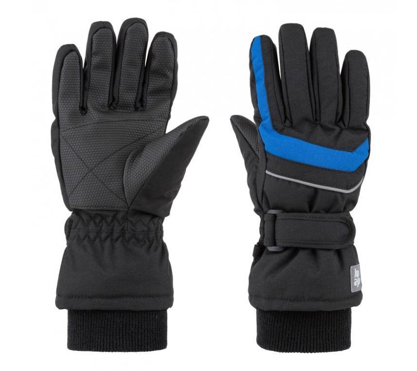 rukavice dětské LOAP RUFUS zimní černo/modré, 10