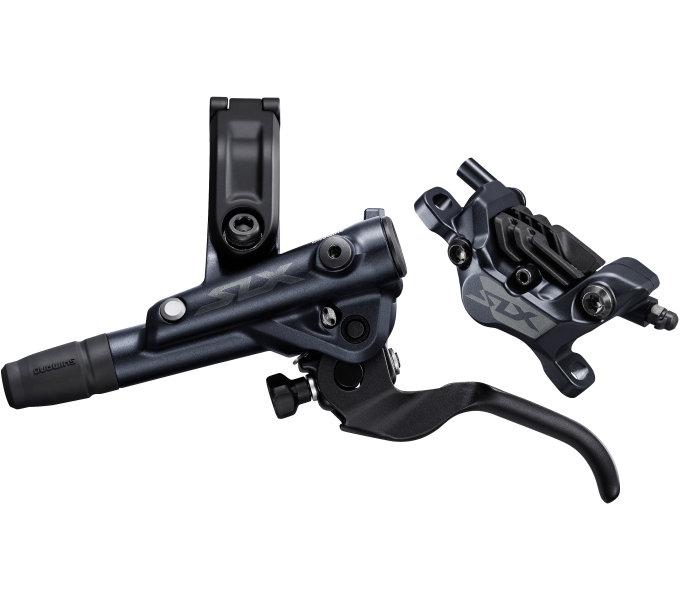 Brzda Shimano SLX BR-M7120 přední komplet kov+chladič černá