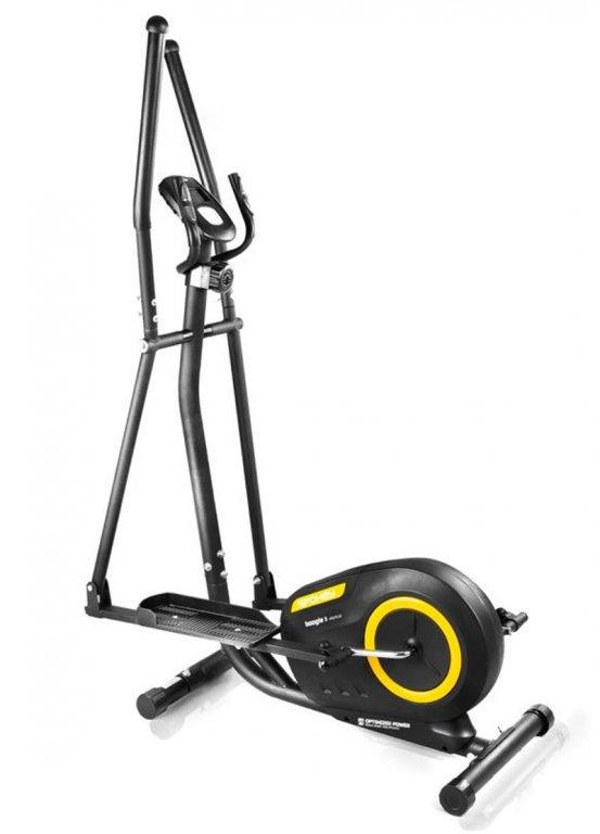 eliptical Spokey BOOGIE 3 černo-žlutý