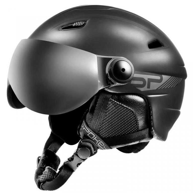 přilba lyžařská SPOKEY JASPER černá, L/XL