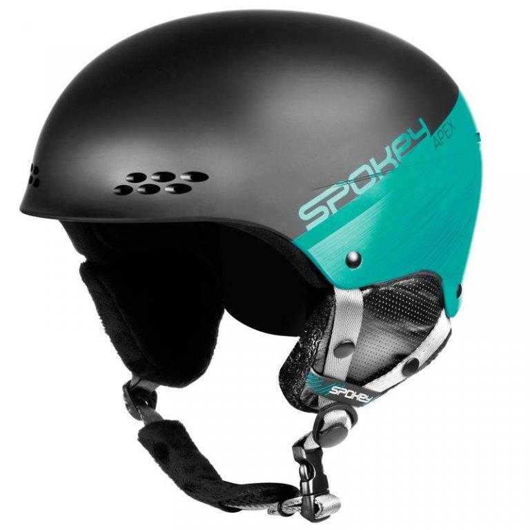 přilba lyžařská SPOKEY APEX černo/modrá, L/XL