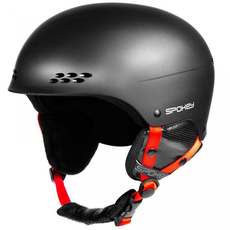 přilba lyžařská SPOKEY ROBSON černá, L/XL