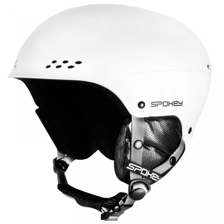 přilba lyžařská SPOKEY ROBSON bílá, L/XL