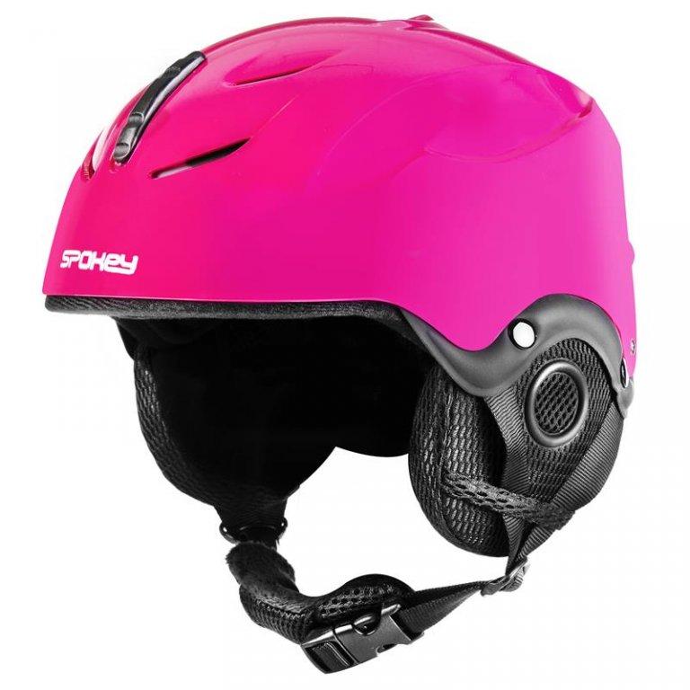 Přilba dětská lyžařská SPOKEY DIXIE růžová