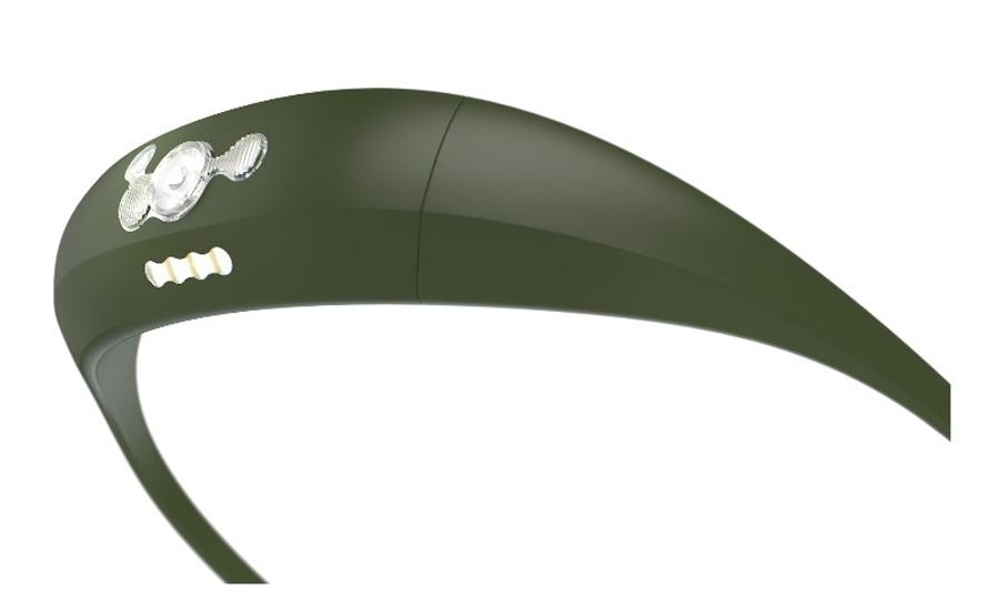 čelovka Knog Bandicoot khaki
