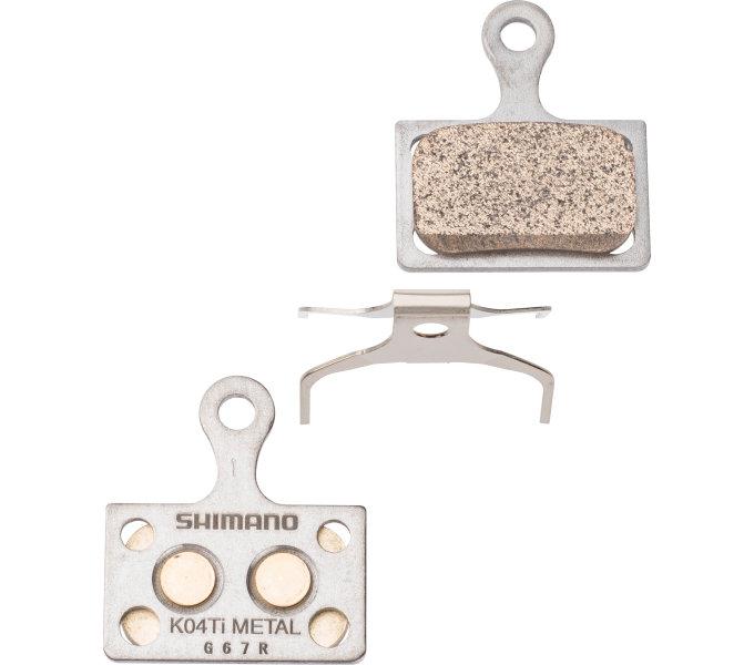 Brzdové destičky Shimano DURA-ACE K04Ti kovové