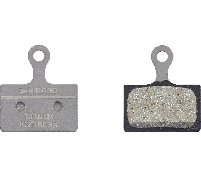 Brzdové destičky Shimano XTR K03Ti polymerové