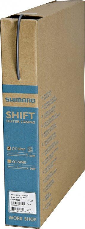 bowden řadicí Shimano SP41 50m šedý box