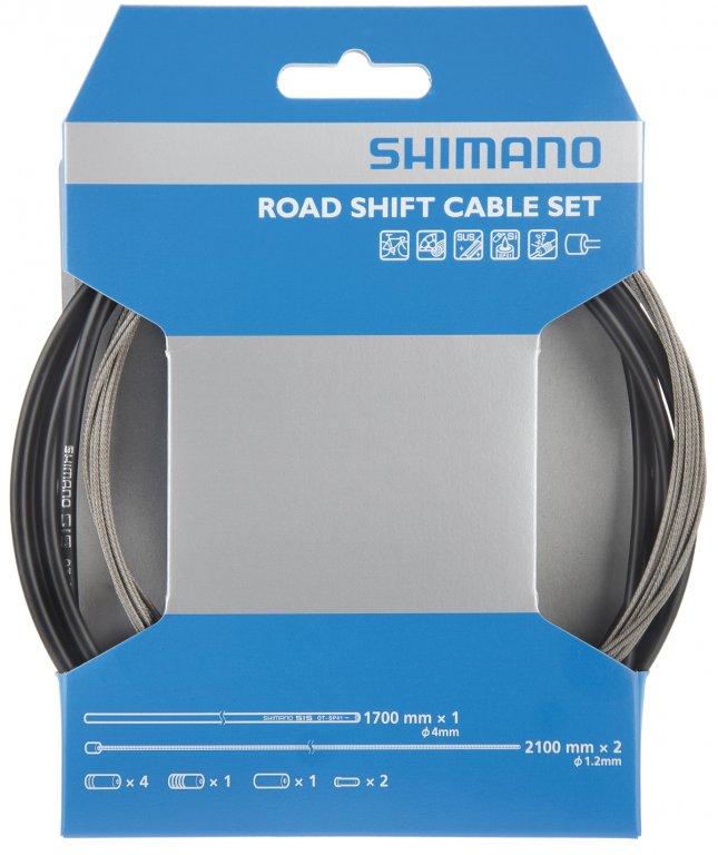 bowdeny+lanka Shimano silniční SP41 set černý