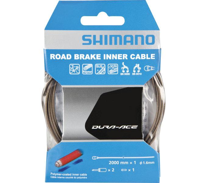 lanko Shimano brzdové SIL.1.6*2000+koncovky pro BC-9000