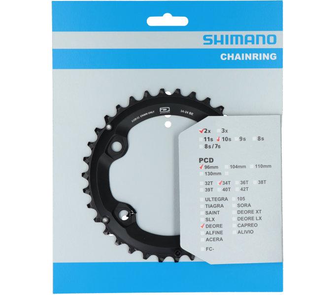 Převodník 34z Shimano Deore FC-M6000 2x10 4 díry