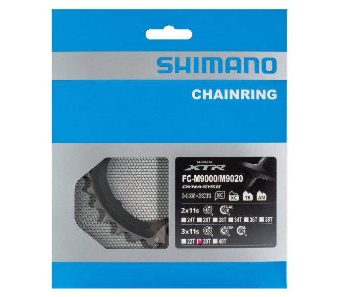 Převodník 30z Shimano XTR FC-M9020 3x10 4 díry