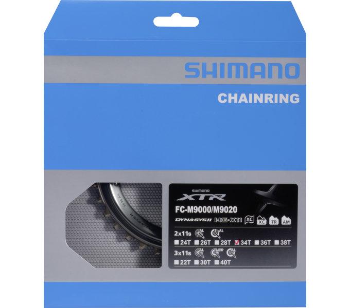 Převodník 34z Shimano XTR FC-M9020 2x11 4díry