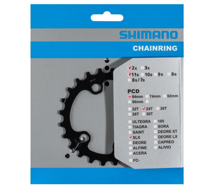 Převodník 24z Shimano SLX FC-M7000 2x11 4 díry
