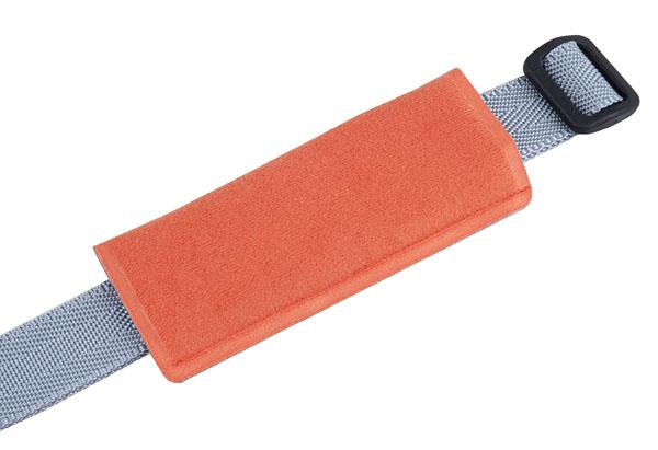 bezpečnostní pás sedačky Polisport Bilby stříbrno-oranžový