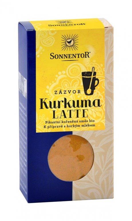 kurkuma Latte SONNENTOR - zázvor 60g