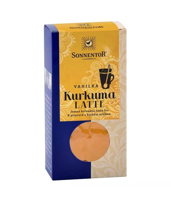 kurkuma Latte SONNENTOR - vanilka 60g
