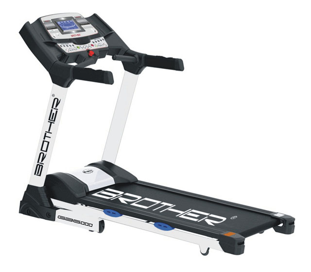 Běžecký pás s elektrickým náklonem a běžeckým aplikacemi GB6000BA