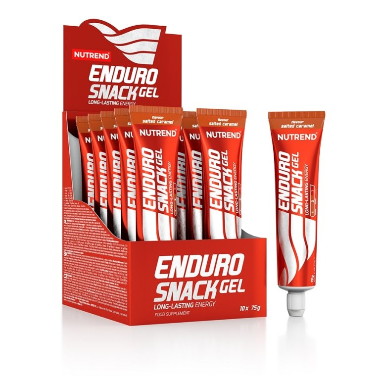 gel Nutrend Endurosnack SLANÝ KARAMEL tuba exp. 02/20
