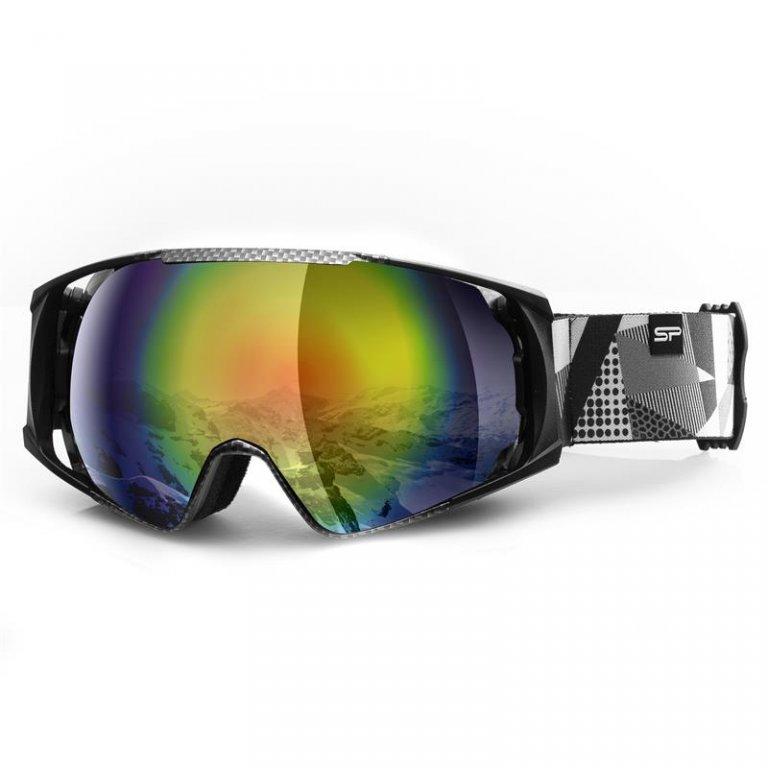 brýle lyžařské SPOKEY DENNY šedo/bílé